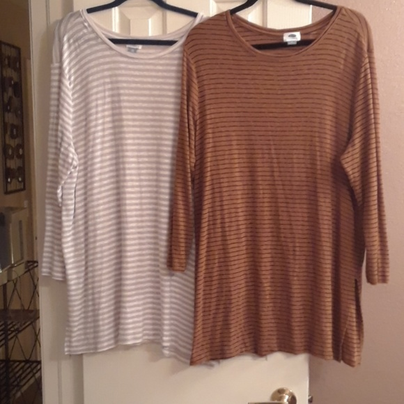 Old Navy Tops - Two striped tunics
